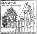 Ohorns Häuserzahl in 6 Jahrhunderten